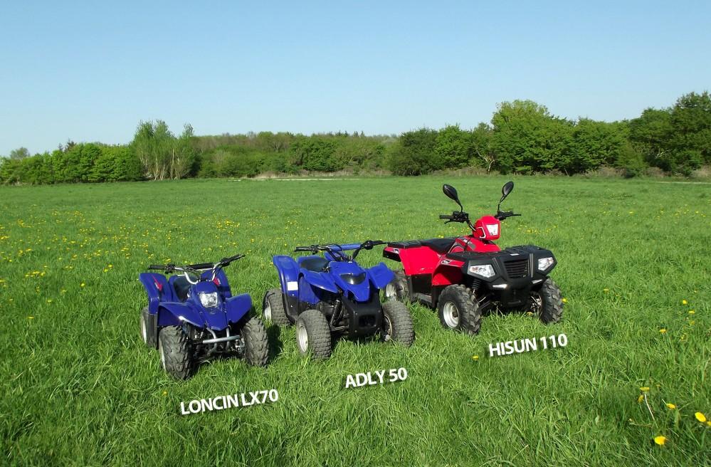 Børne ATV - Kvalitets ATV til børn, 50cc, 70cc og 110cc